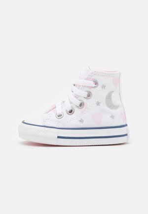 CHUCK TAYLOR ALL STAR - Zapatillas altas - white/pink/silver