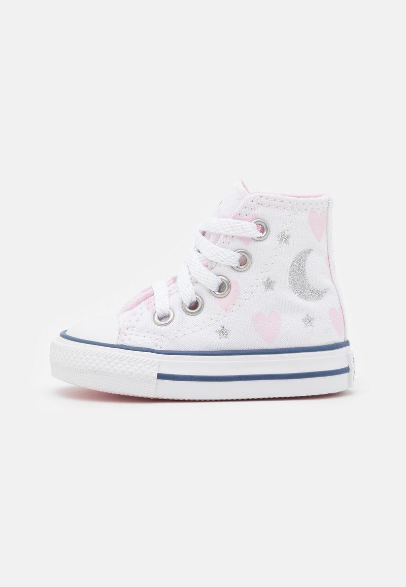 Converse - CHUCK TAYLOR ALL STAR - Zapatillas altas - white/pink/silver
