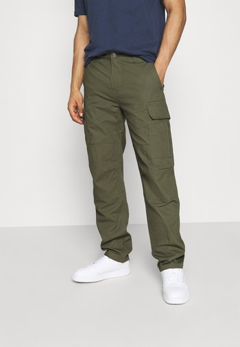 MILLERVILLE - Cargo trousers - military green