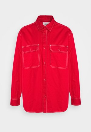 GREAT MASTER - Button-down blouse - cardinal