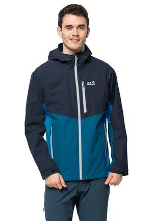 EAGLE PEAK - Hardshell jacket - night blue