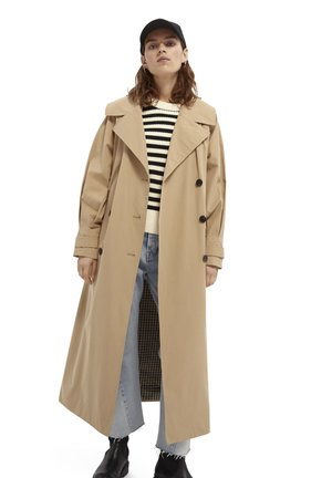 OVERSIZED - Trenchcoat - sand