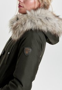 ONLY - Parka - peat - 3
