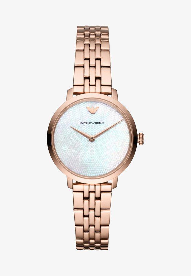 Uhr - roségold-coloured