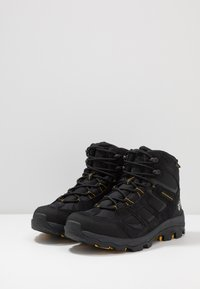 Jack Wolfskin - VOJO 3 TEXAPORE MID - Outdoorschoenen - black/burly yellow
