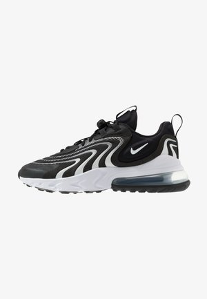 AIR MAX 270 REACT - Matalavartiset tennarit - black/white/dark smoke grey/wolf grey