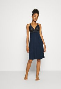 LASCANA - NEGLIGEE - Nightie - nightblue - 1
