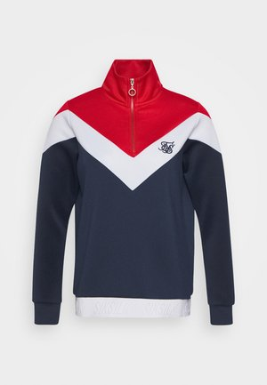 RETRO SPORT TRACK TOP - Sweatshirt - navy/red/white