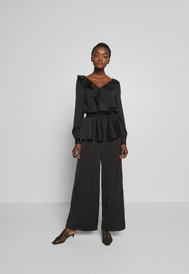 LENIENT - Tuta jumpsuit - black