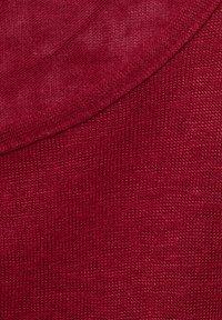 Street One - IM LEINEN LOOK - Basic T-shirt - rot - 4