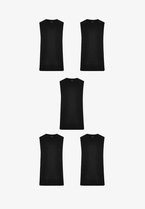 5 PACK - Top - black