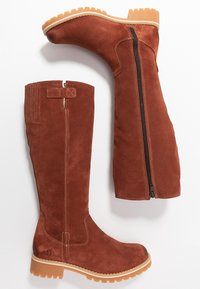 s.Oliver - Winter boots - cognac - 3