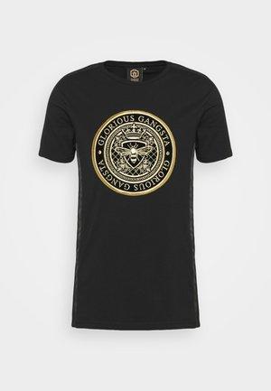 DONAEO TEE - Print T-shirt - jet black