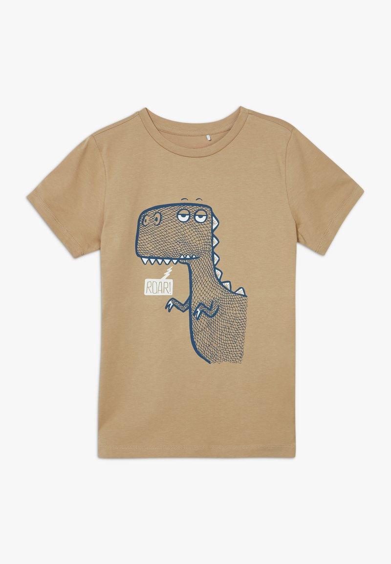 Name it - NKMDANNI  - Print T-shirt - tannin