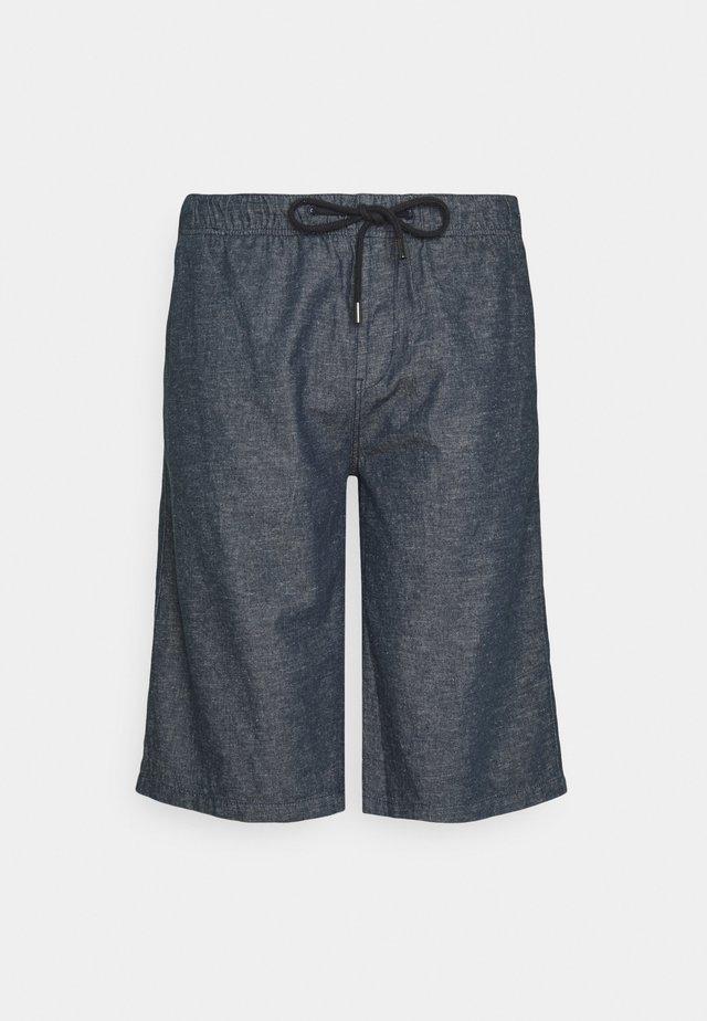 BERMUDA - Shorts - blue melange