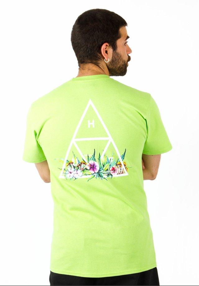 T-SHIRT BOTANICAL GARDEN TT - T-shirt print - huf green