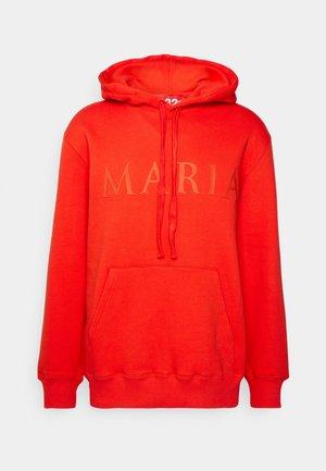 MARIA HOODIE UNISEX - Sweater - red