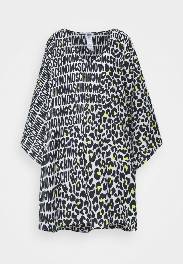 KAFTAN - Strandaccessoire - black/white/yellow