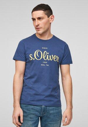 MIT LABEL-PRINT - Print T-shirt - blue