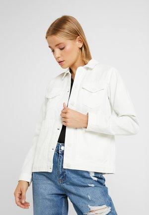 SHACKET - Denim jacket - ecru