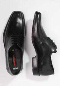 Lloyd - DAGAN - Elegantní šněrovací boty - schwarz - 1