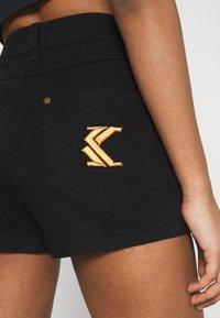 Karl Kani - Denim shorts - black - 3