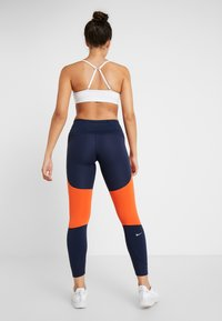 Nike Performance - EPIC LUX - Tights - obsidian/team orange/silver - 2