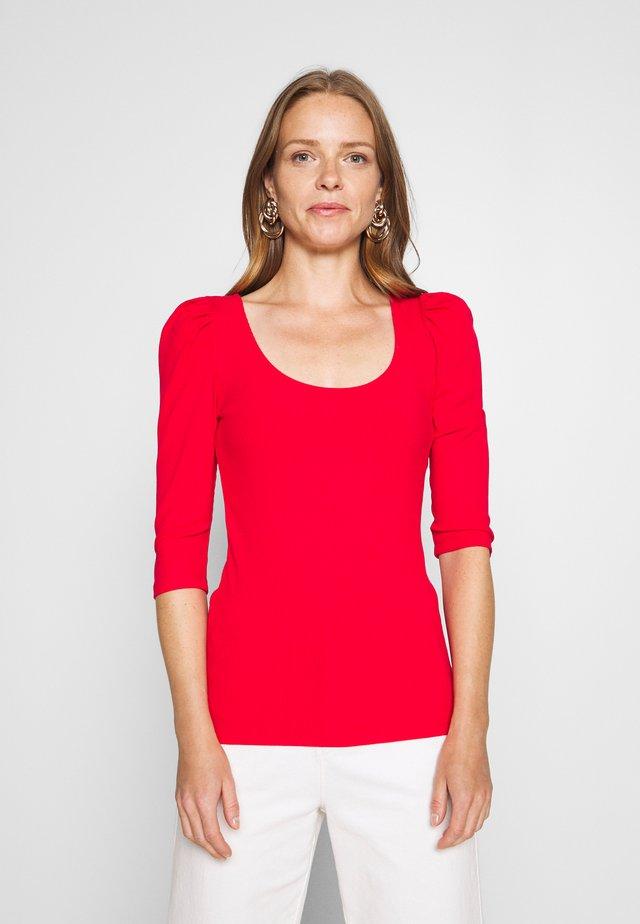 Maglietta a manica lunga - raspberry
