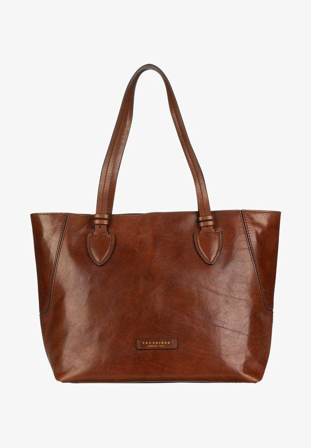 CATERINA  - Tote bag - marrone/oro