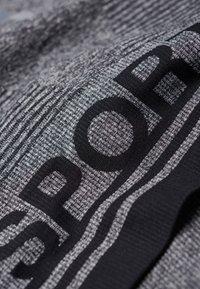 Superdry - MIT EINSATZ - T-shirt bra - mottled black - 5