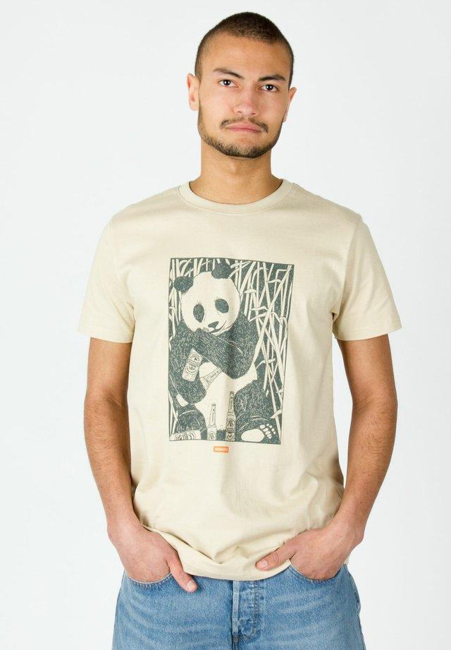 PARADISE - T-shirt imprimé - beige