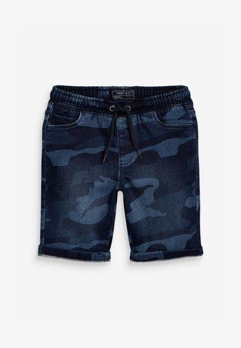 Denim shorts - multi-coloured