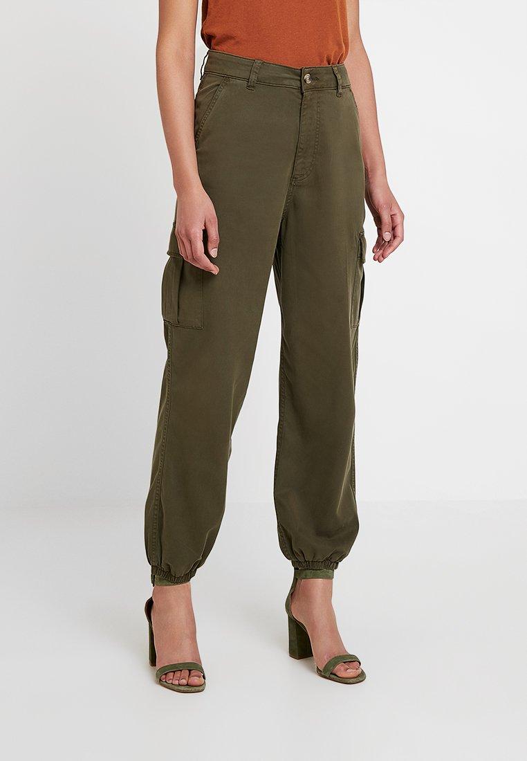 Miss Selfridge - TROUSER - Trousers - khaki