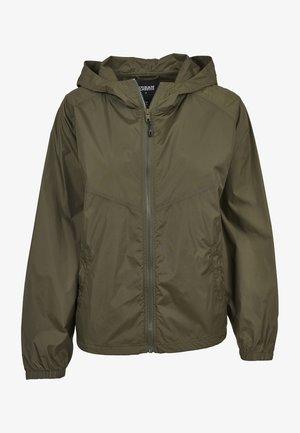 Summer jacket - darkolive