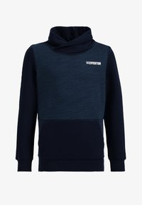 WE Fashion - MET TAPEDETAIL - Sweatshirt - dark blue - 0