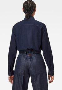 G-Star - REGULAR CARGO RIB LONG SLEEVE - Button-down blouse - rinsed - 1