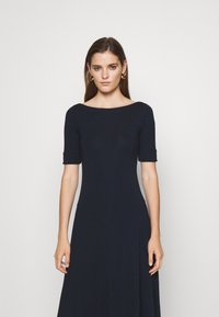 Lauren Ralph Lauren - MUNZIE ELBOW SLEEVE CASUAL DRESS - Jersey dress - navy - 3