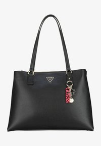 Guess - BECCA LUXURY SATCHEL - Tote bag - black - 0