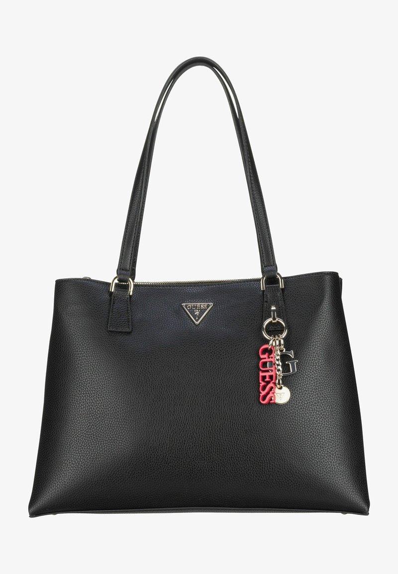 Guess - BECCA LUXURY SATCHEL - Tote bag - black
