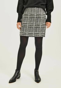 Opus - RAVENNA RETRO TWIST - Pencil skirt - schwarz - 0