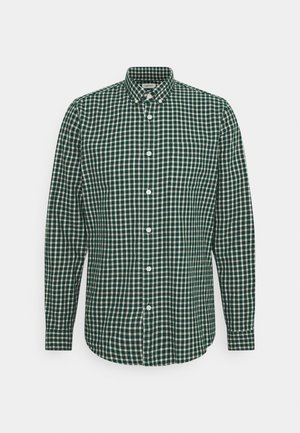 CHECK - Camicia - bottle green