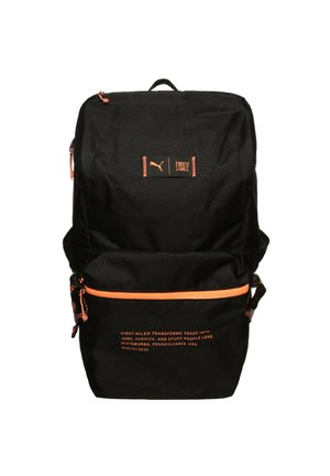PUMA X FIRST MILE TAGESRUCKSACK - Rucksack -  black / fizzy orange