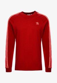 adidas Originals - Långärmad tröja - scarlet - 4