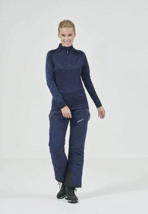 BARTLETT MELANGE - Fleece jumper - 2048 navy blazer