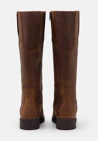 Timberland - GRACEYN TALL SIDE ZIP WP - Boots - rust - 3