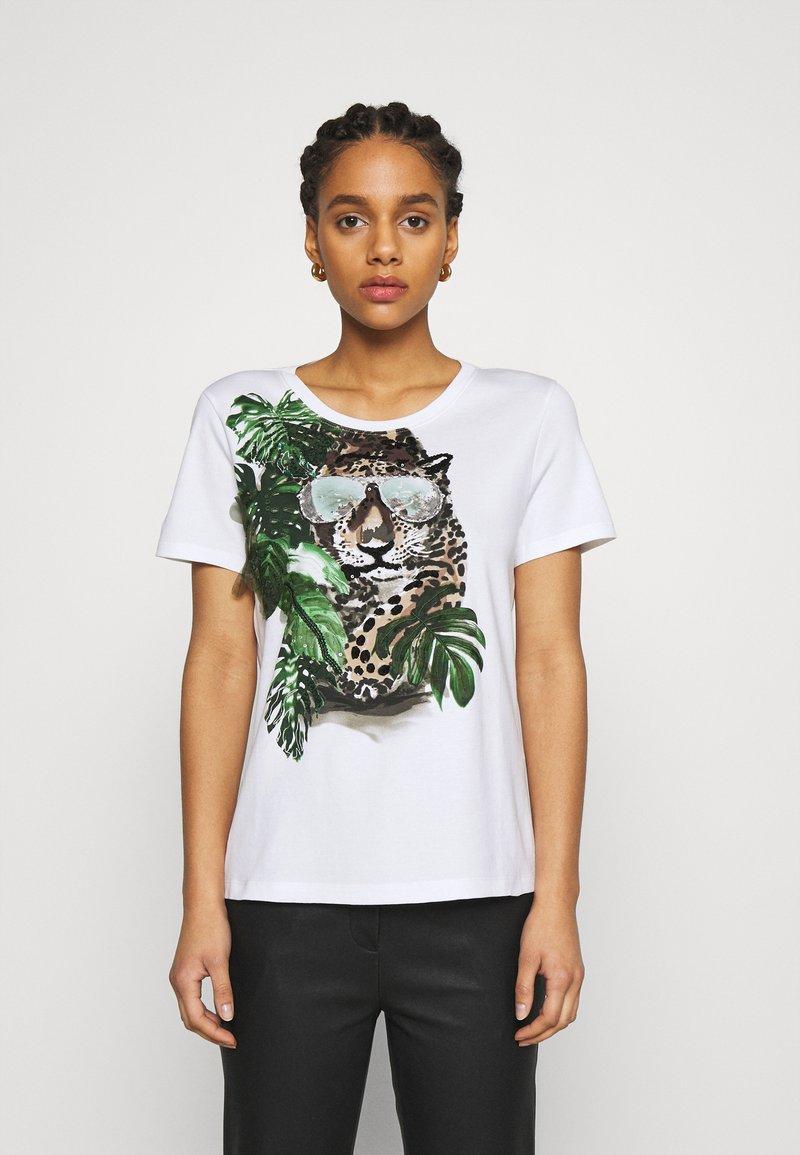 Marc Cain - Print T-shirt - khaki