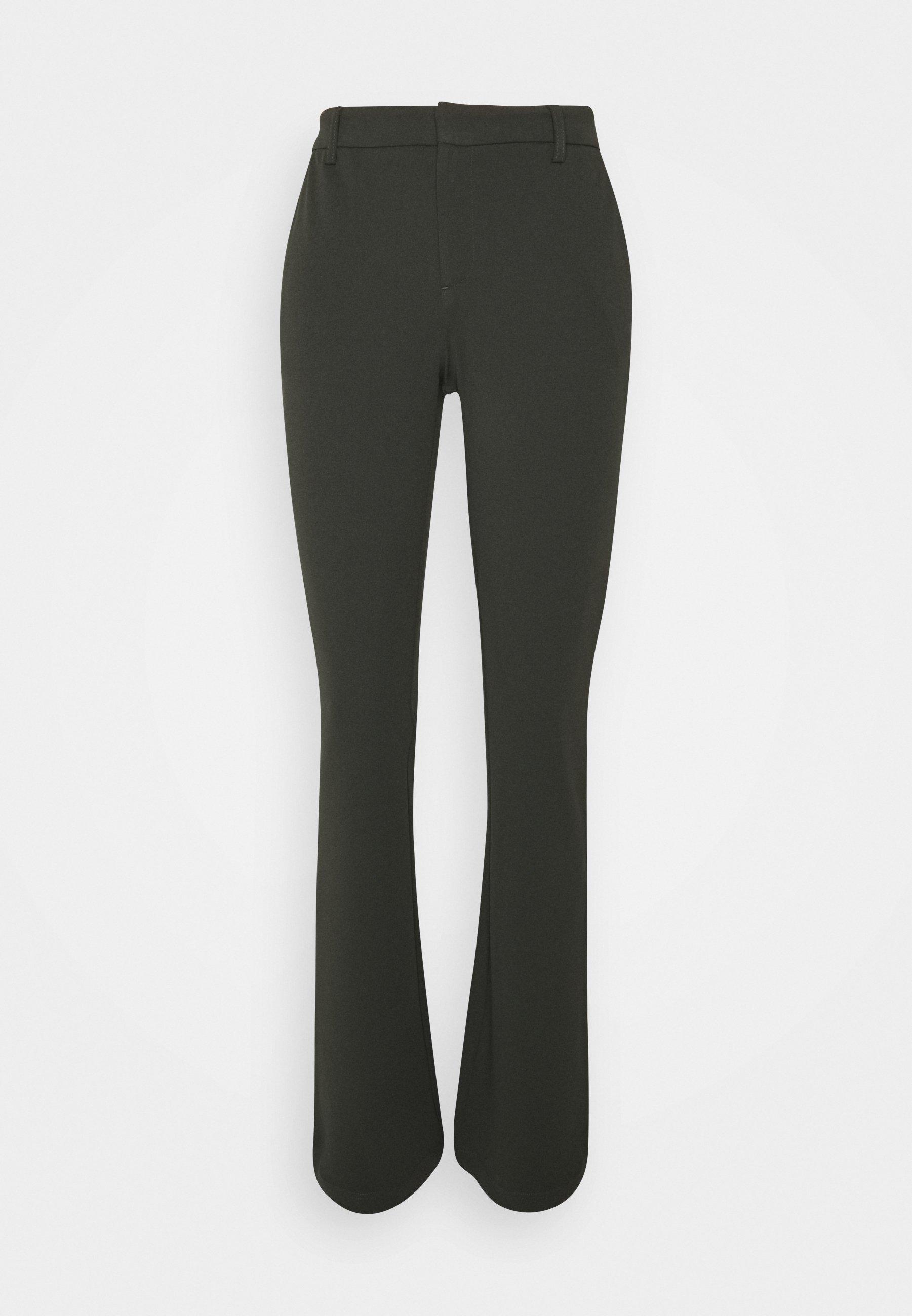 Damer ONLROCKY MID FLARED PANT - Bukser