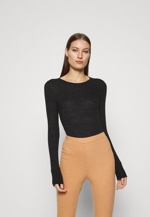 ESSENTIAL CREW BODYSUIT - Jumper - black