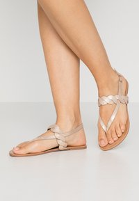 Anna Field Wide Fit - Tongs - rose-gold - 0