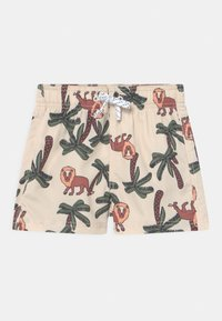 Lindex - LION IN TREE - Swimming shorts - beige - 0